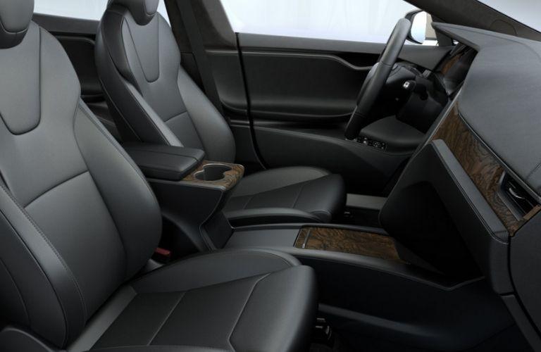 Tesla Model S Front Seat Interior