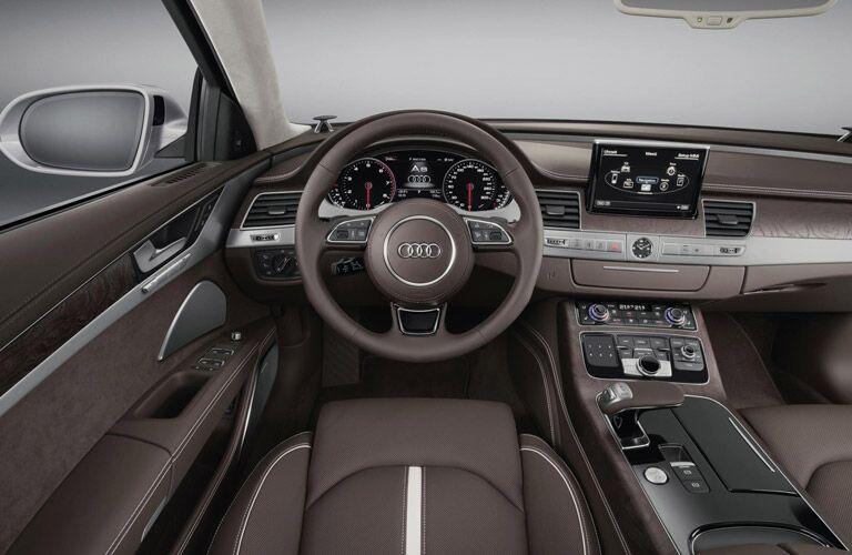 Used Audi A8 Dallas TX interior