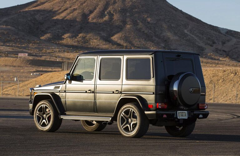 Mercedes-Benz G-Class rear exterior view