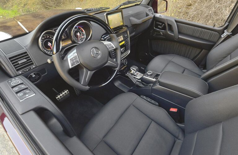Used Mercedes-Benz G-Class interior