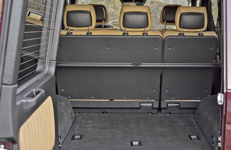 Mercedes-Benz G-Class cargo space