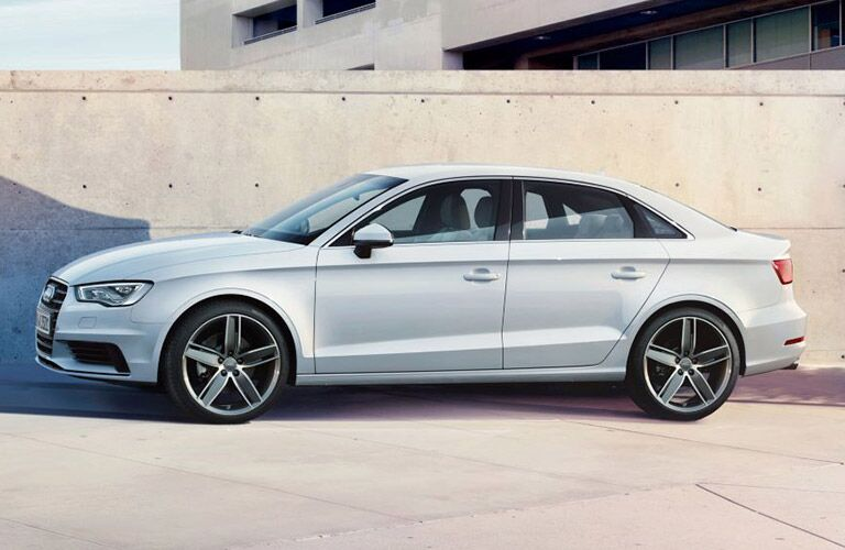 Used Audi Dallas TX side view