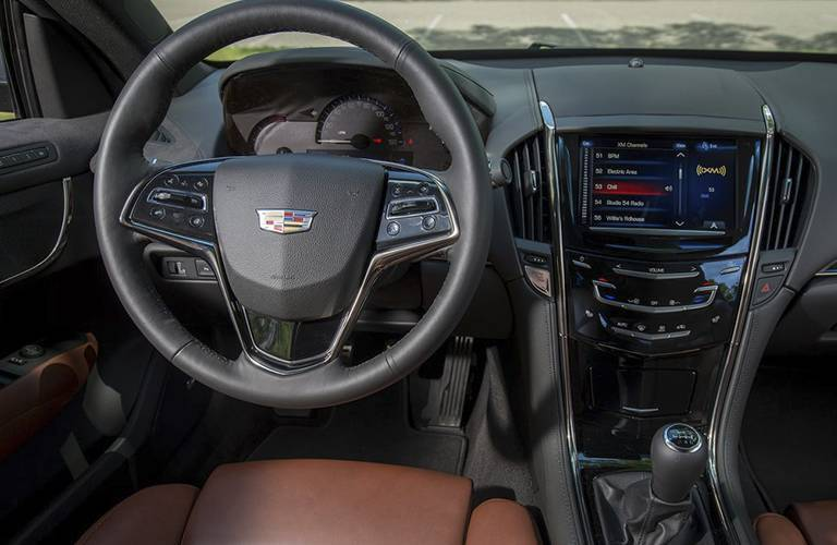 Cadillac ATS model interior