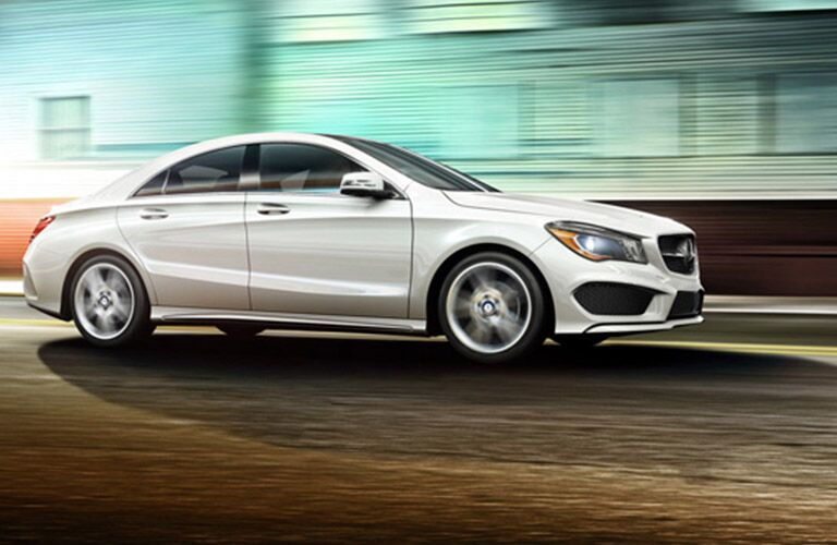 Used Mercedes-Benz CLA Dallas TX exterior