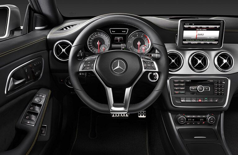 Used Mercedes-Benz CLA Dallas TX interior
