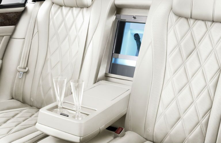 Bentley Flying Spur Rear Champagne Chiller and Center Console