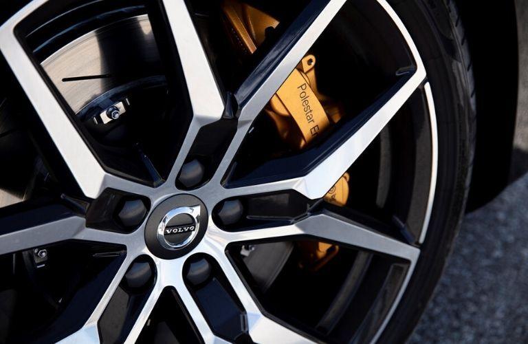 Close Up of 2019 Volvo S60 Polestar Wheels