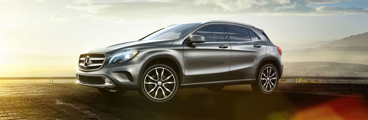 Used Mercedes-Benz GLA Dallas TX side view