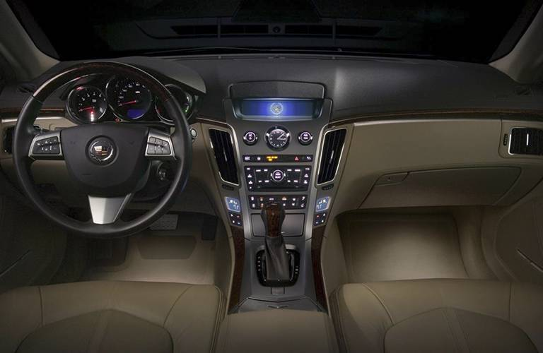 Used Cadillac Dallas TX interior