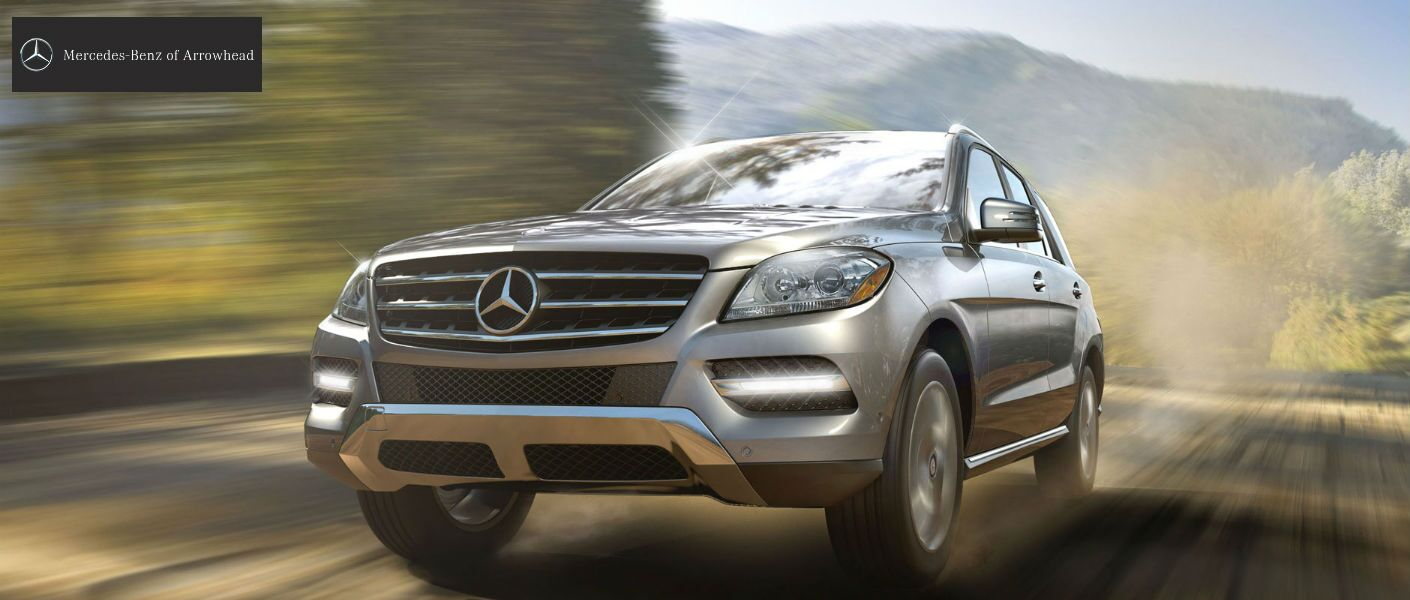 2014 Mercedes-Benz M-Class Dakota Brown Metallic Exterior