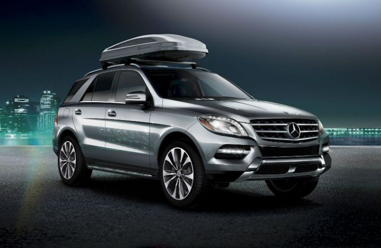 2014 Mercedes-Benz M-Class Iridium Silver Metallic Exterior