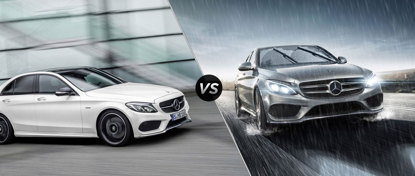 2016 mercedes amg c450 sedan vs 2015 mercedes benz c400 for Mercedes benz c400 4matic