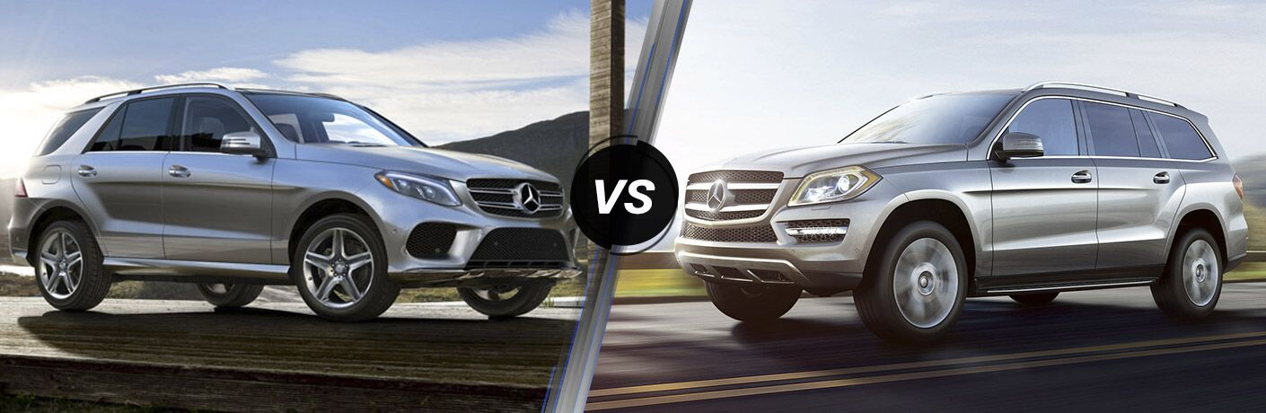 2016 mercedes benz gle vs 2016 mercedes benz gl class for Mercedes benz gl class luxury suv