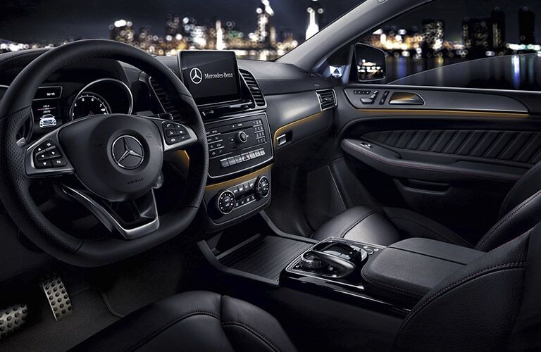 2017 Mercedes-AMG GLE43 Black Leather Interior