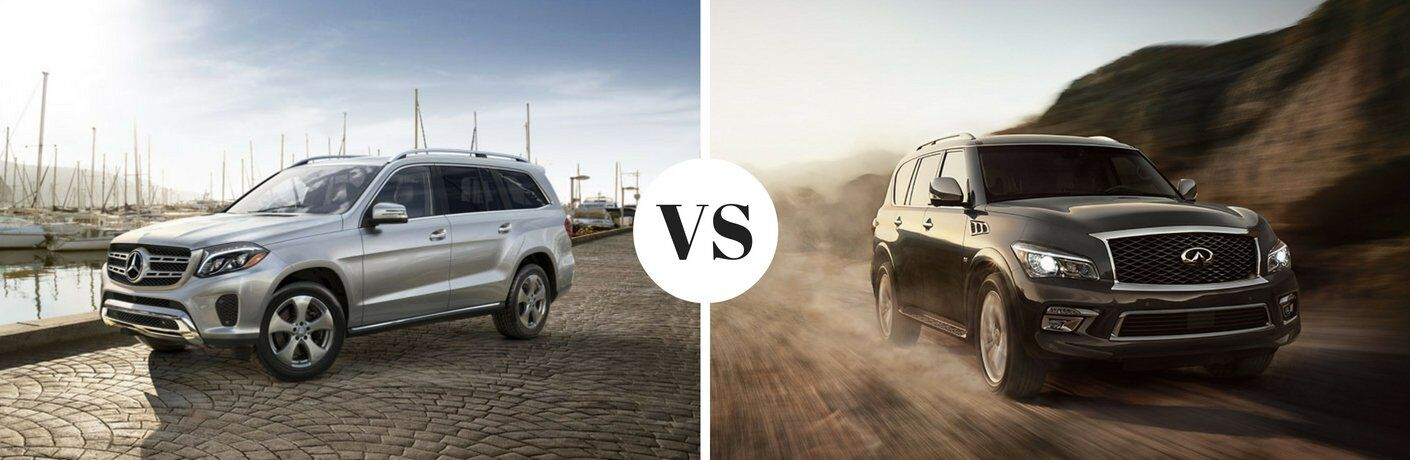 2017 mercedes benz gls vs 2017 infiniti qx80 for Mercedes benz of arrowhead reviews
