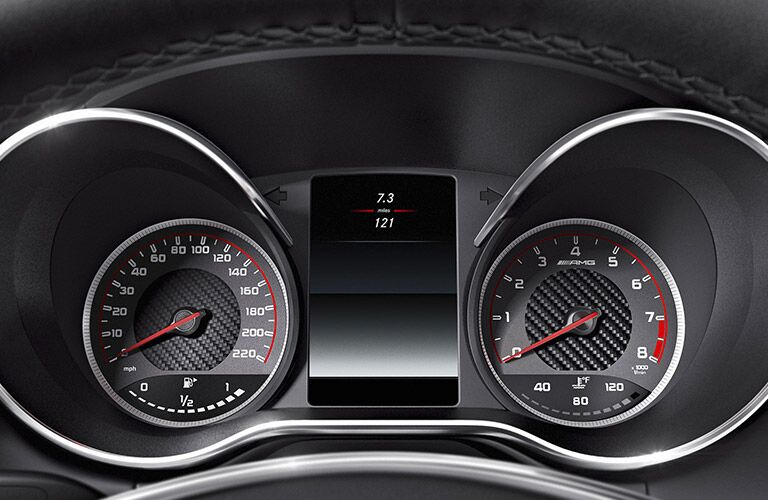 2017 Mercedes-AMG GT S Speedometer