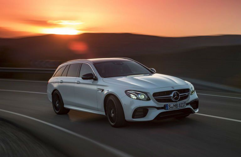 2018 Mercedes-AMG E 63 S Wagon front grille