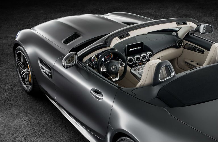 2018 Mercedes-AMG GT C Roadster Dashboard