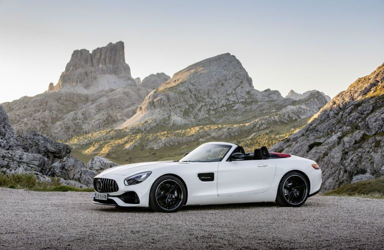 2018 Mercedes-AMG GT Roadster Wheels