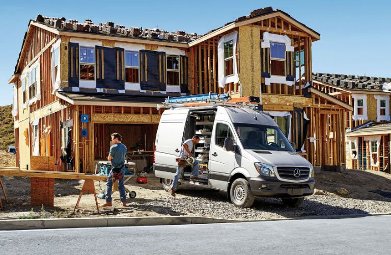 Mercedes-Benz Sprinter Construction Zone