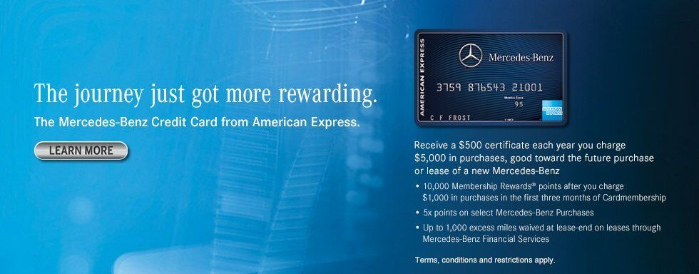 Apply for Mercedes-Benz Credit Card
