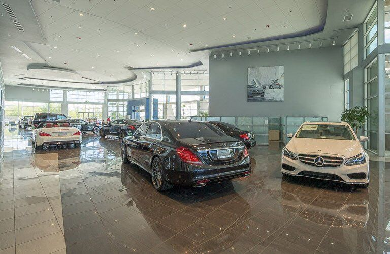 Mercedes-Benz of Arrowhead showroom