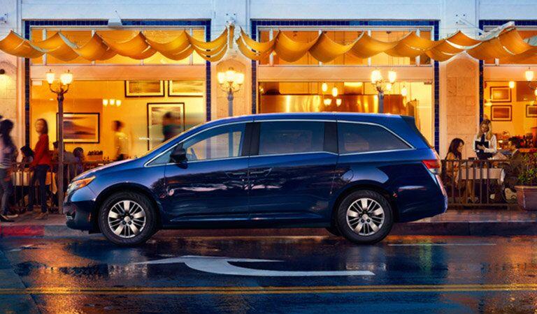 Honda Odyssey side profile