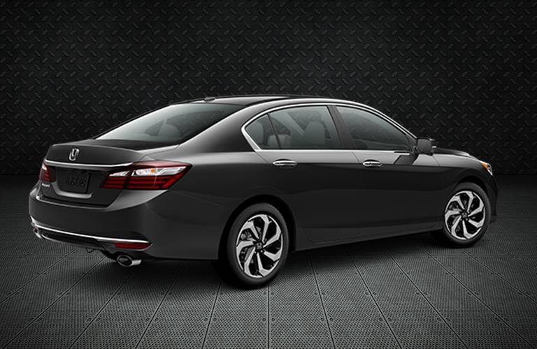 2016 Honda Accord EX-L Redesigned Rear View