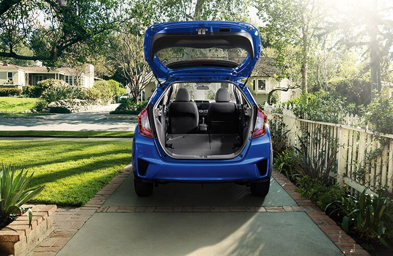 2016 Honda Fit Trunk Open
