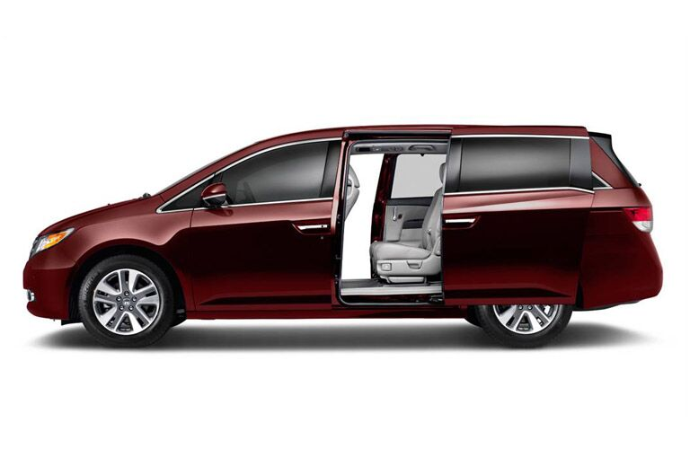 2016 Honda Odyssey Touring Elite Side View Automatic Door
