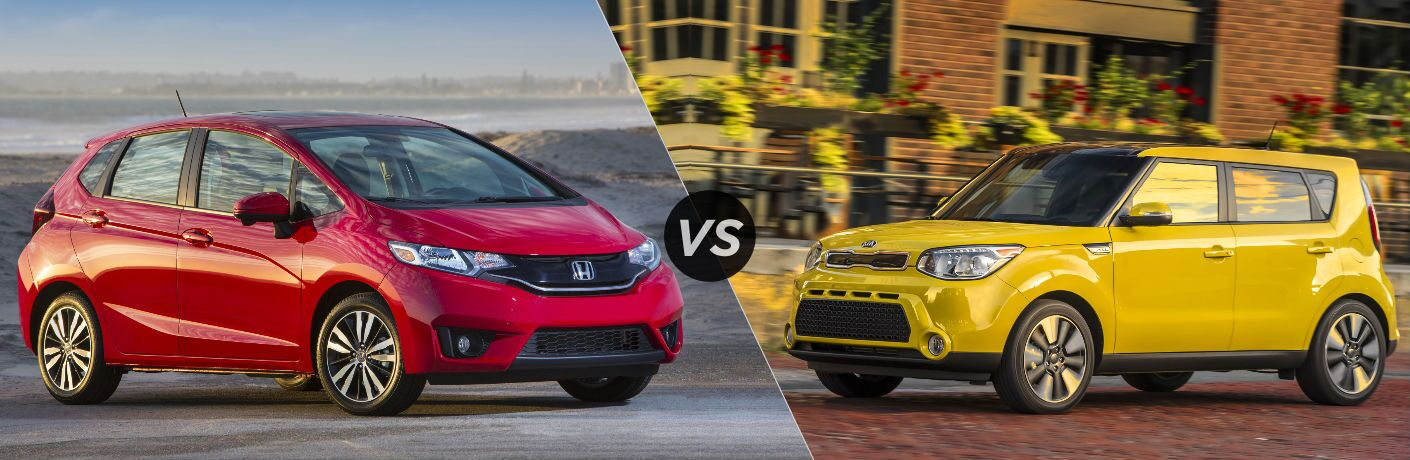 2016 Honda Fit EX vs 2016 Kia Soul