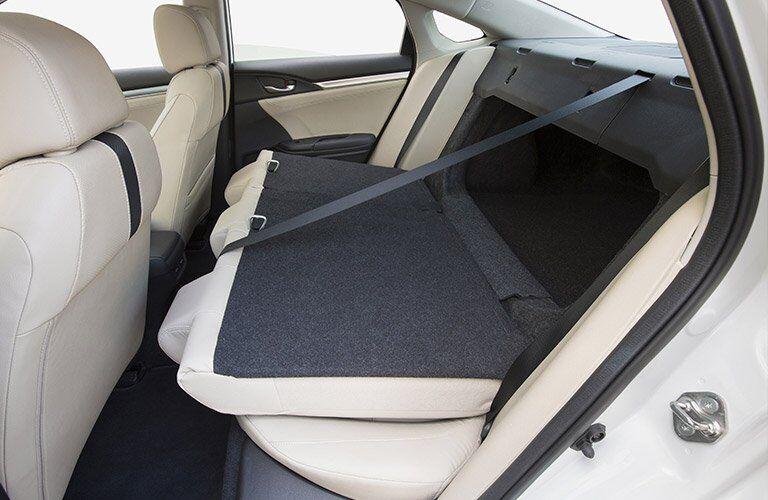 2017 Honda Civic cargo space