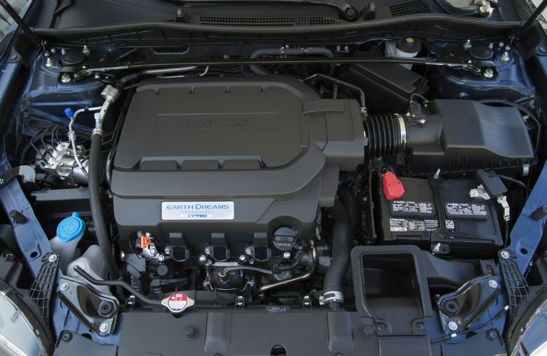 2017 Honda Accord Coupe EarthDreams engine