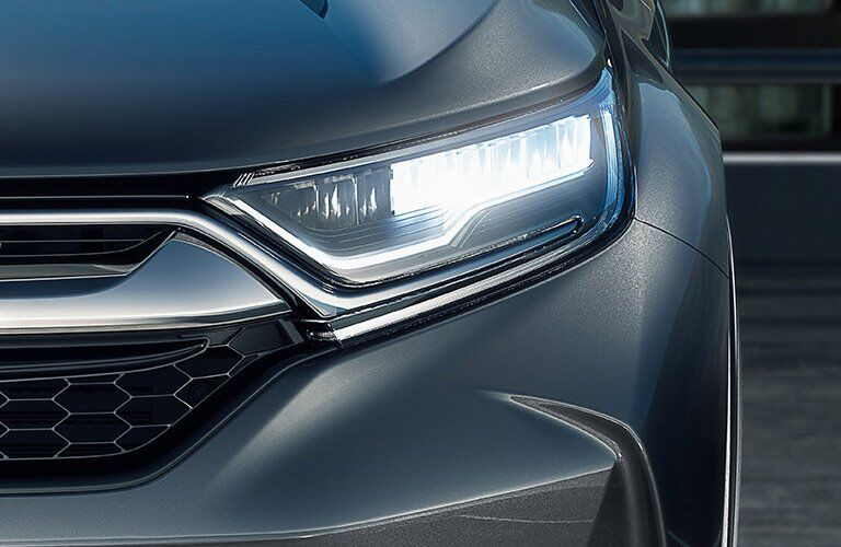Headlight of the 2017 Honda CR-V