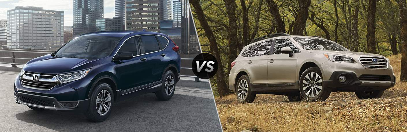 2017 Honda CR-V vs 2017 Subaru Outback