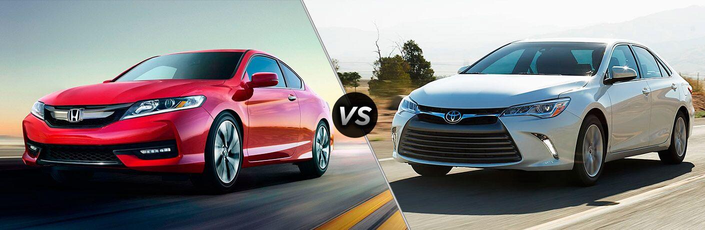 2017 Honda Accord EX vs 2017 Toyota Camry XLE