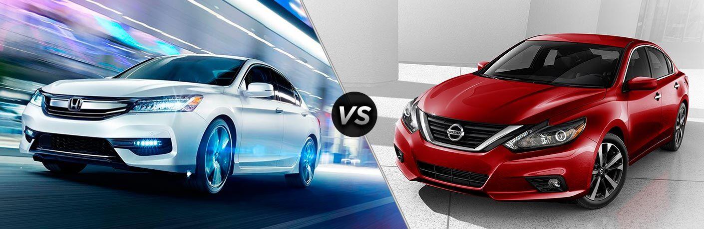 2017 Honda Accord vs 2017 Nissan Altima