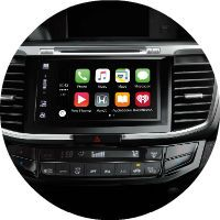 2017 Honda Accord Coupe Apple CarPlay