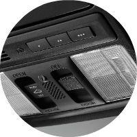 2017 Honda Accord Hybrid HomeLink system