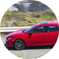 2017 Honda Civic Hatchback Honda Sensing System
