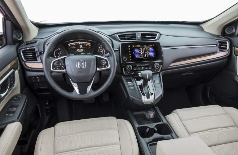 2018 Honda CR-V front seat interior view