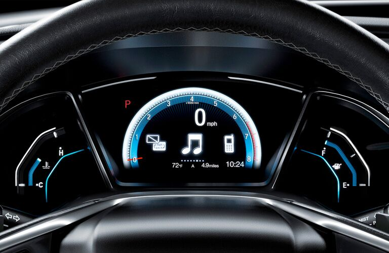 2019 Honda Civic Coupe performance gauge