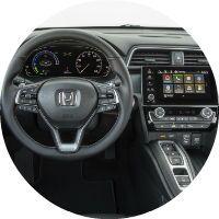 Interior of the 2019 Honda Insight