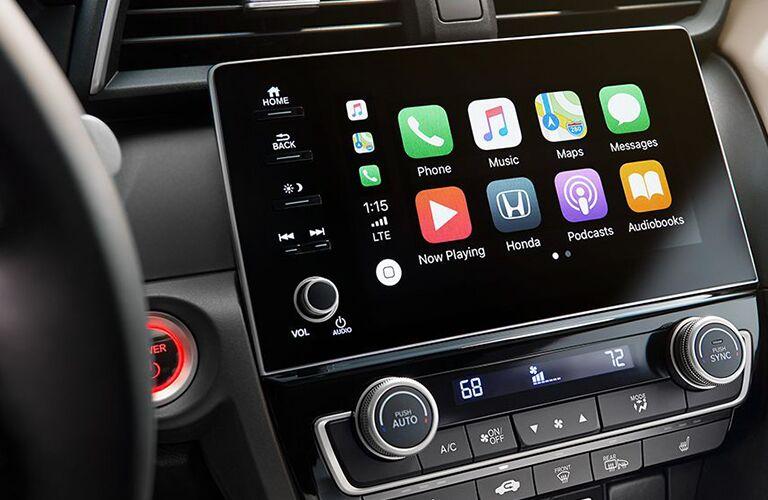 2019 Honda Insight touchscreen display