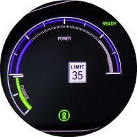 Tachometer in the 2019 Honda Insight