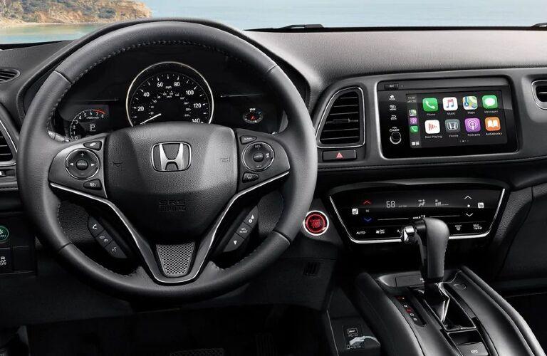 2020 HR-V cockpit