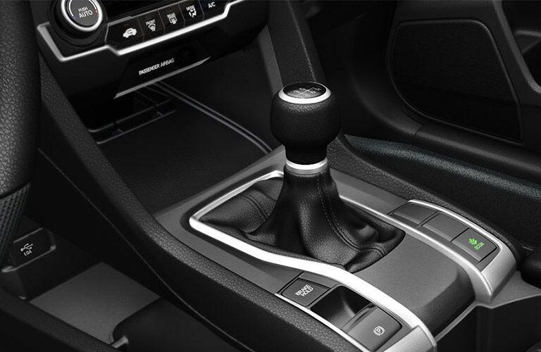 Shifter knob in the 2019 Honda Civic
