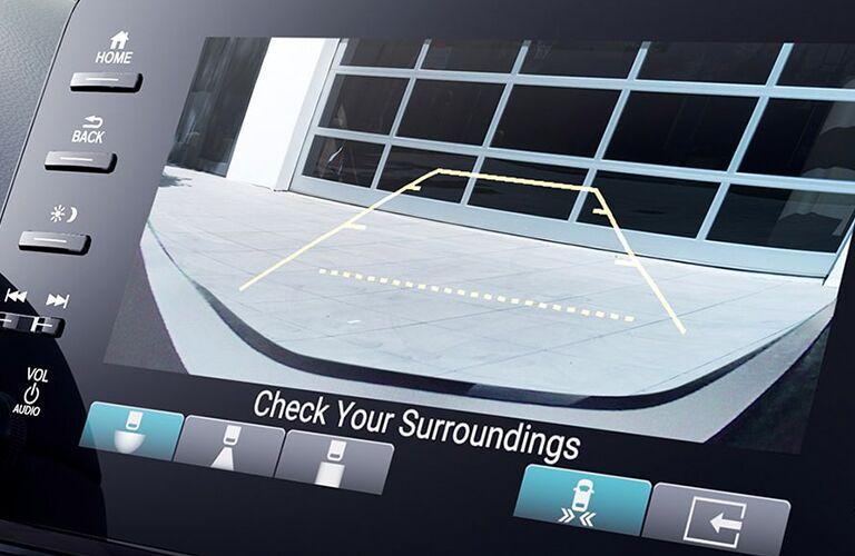 rearview camera in 2020 Honda Accord