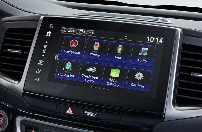 2020 Ridgeline touchscreen
