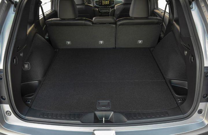 2020 Honda Passport rear interior open cargo area